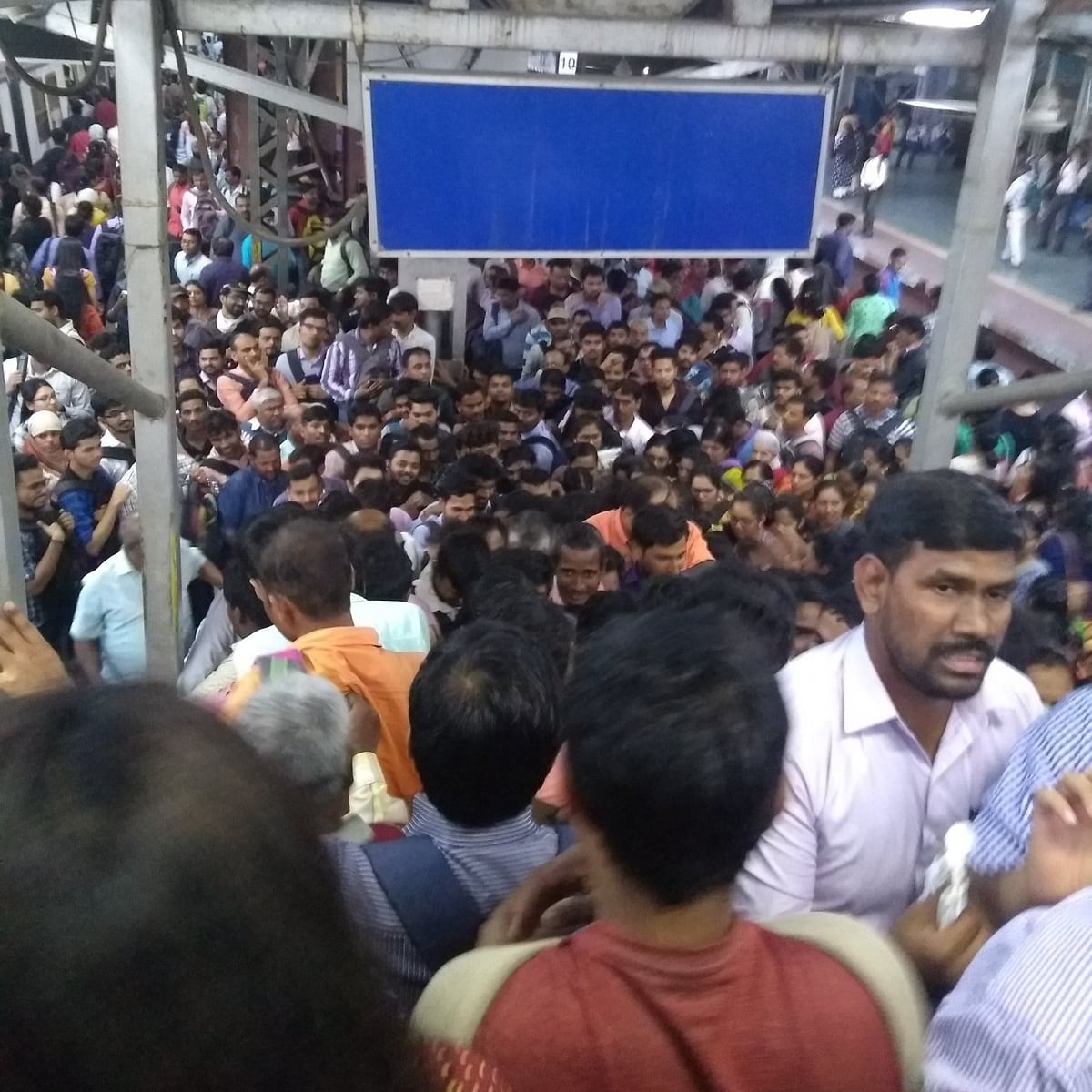 Mumbai Local: Passengers demand better conditions at Thane station