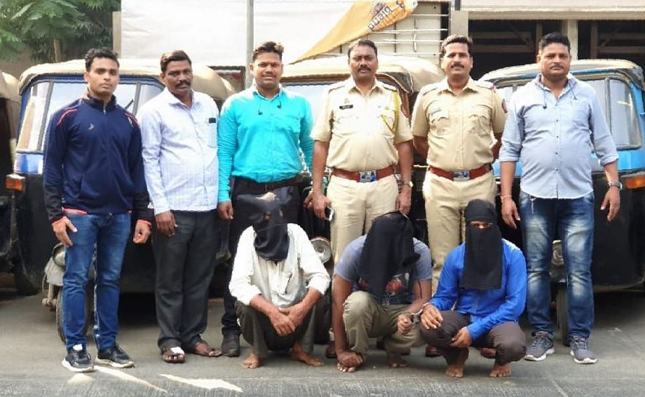 Three held for theft, resale of autos in Mumbai