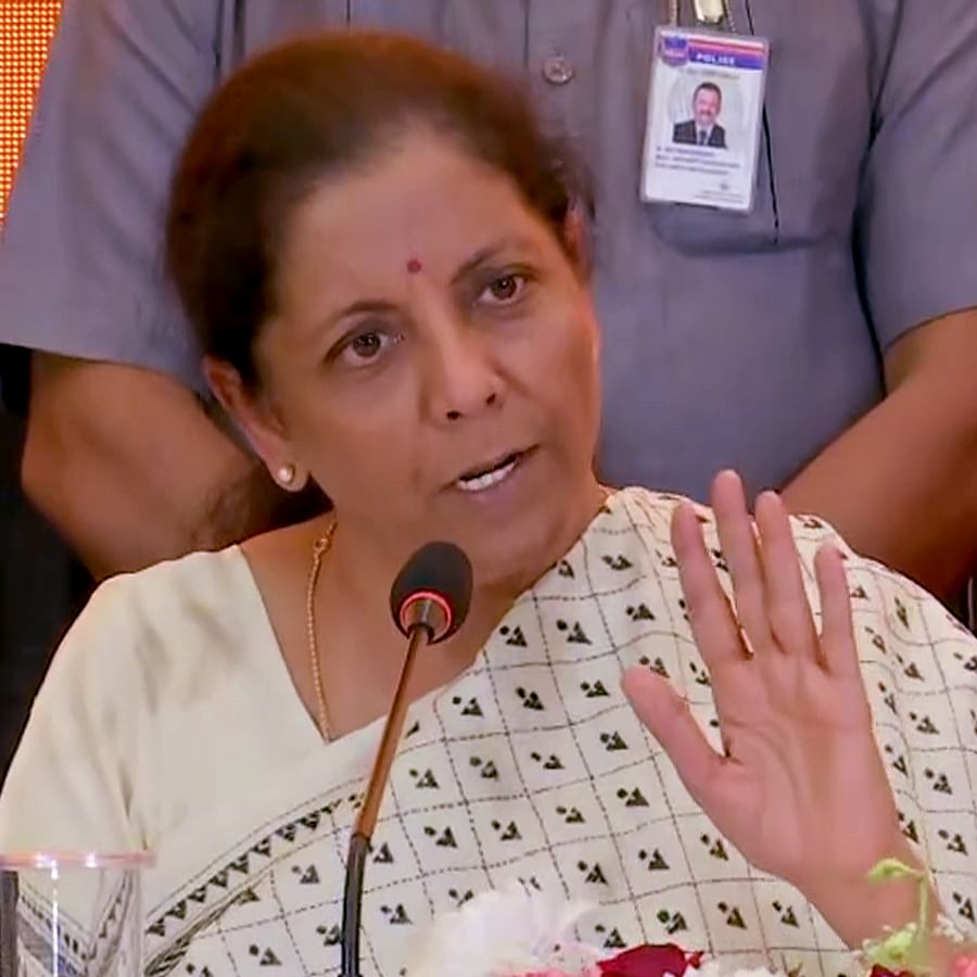 No timeline yet for phasing out income tax exemptions: Sitharaman