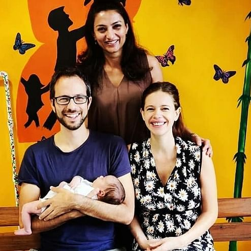 'Begged them to take the baby out': Kalki shares first glimpse of daughter Sappho after 17-hour labour ordeal