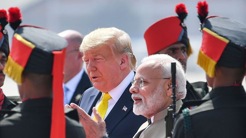 Rally with Indian PM Narendra Modi and tour of Taj Mahal: Donald Trump's first day visit in India
