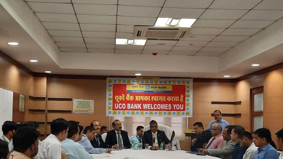 UCO Bank MD and ED visit Mumbai