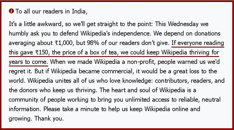 Is Wikipedia dying? The online encyclopedia seeks donation from users