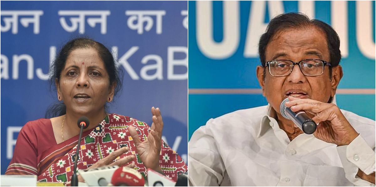 'How to describe economy's mismanagement before pandemic?': P Chidambaram takes a dig at Sitharaman's 'Act of God' remark