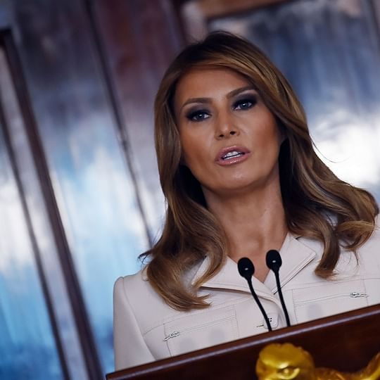 Excited for India trip, says US First Lady Melania Trump