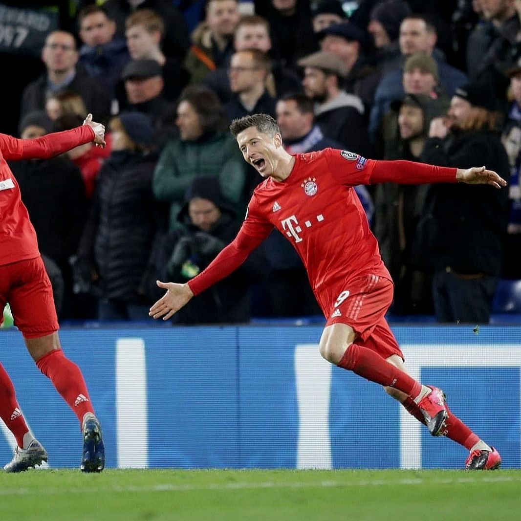 UEFA Champions League: Lewandowski stars as Bayern Munich thump three past hapless Chelsea at the Bridge