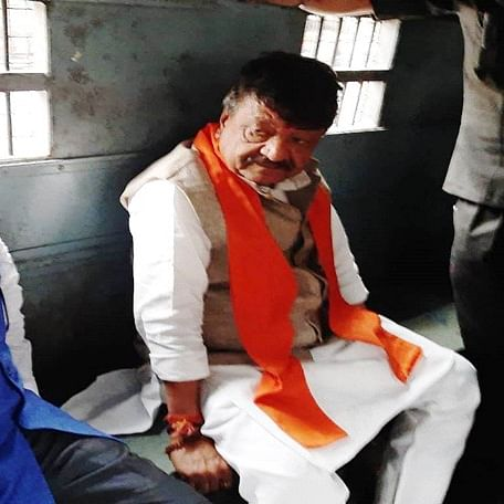 West Bengal: BJP leaders Kailash Vijaywargiya, Mukul Roy released after 5 hours of detention