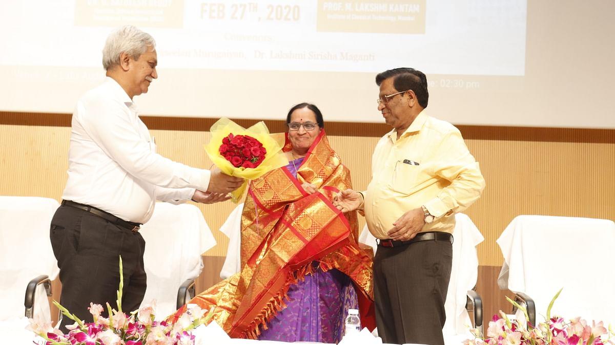 National Science Day 2020: Prof M Lakshmi Kantham graces celebrations at SRM University