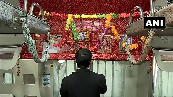 Kashi-Mahakal Express gets a temple on wheels dedicated to Lord Shiva