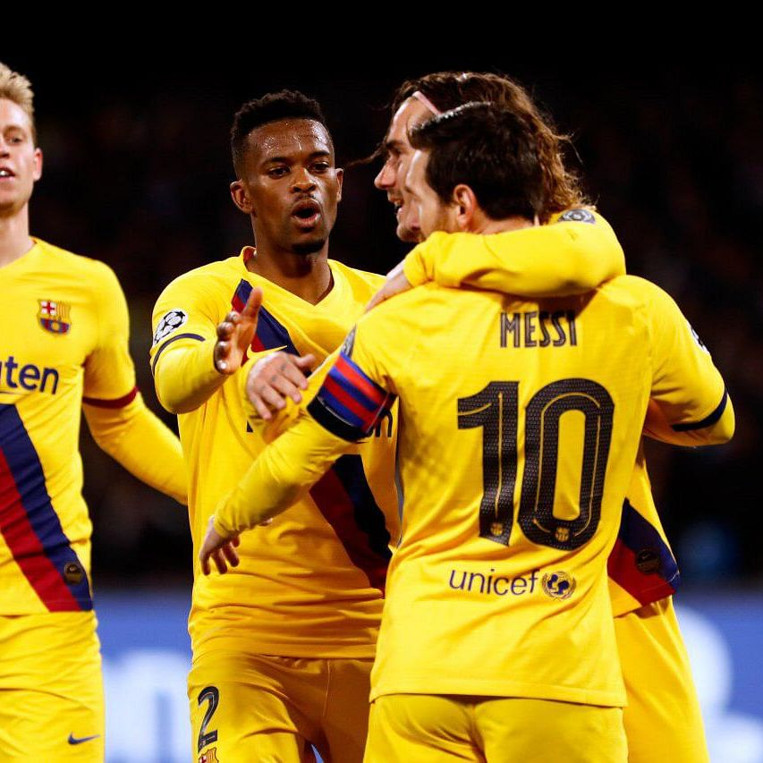 UEFA Champions League: Antoine Griezmann helps Barcelona salvage draw at Napoli