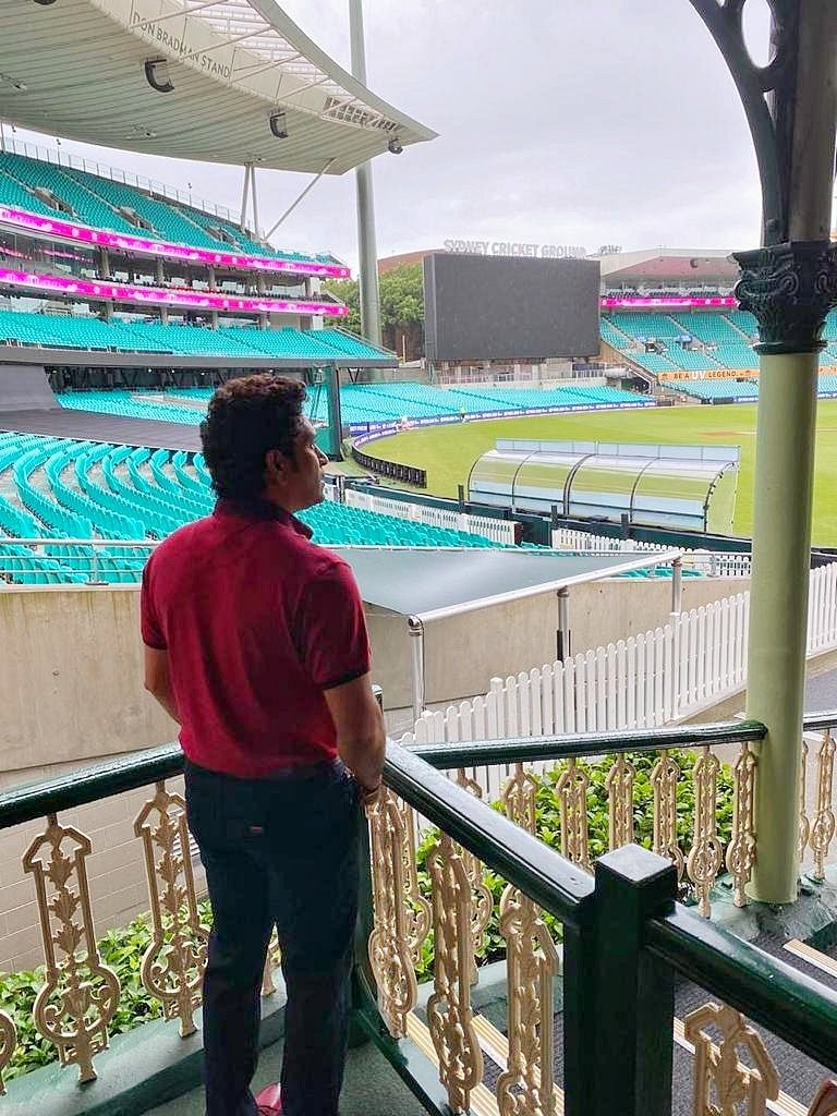 'Memories came flooding back': Sachin Tendulkar reminisces old playing days after visit to Sydney Cricket Ground