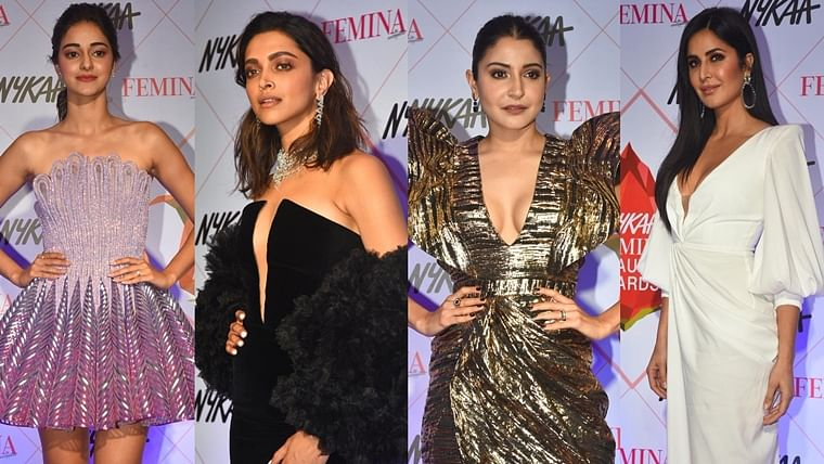 Deepika, Katrina, Anushka and other B-town divas sizzle at Nykaa Femina Beauty Awards 2020