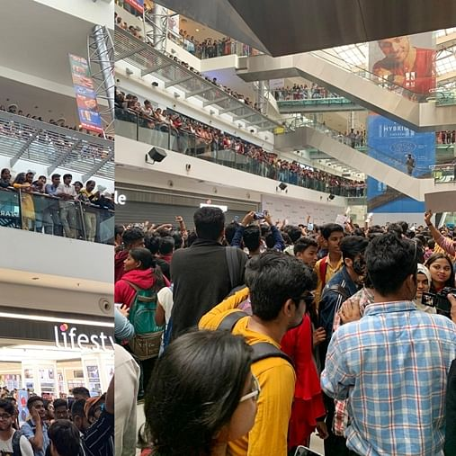 'Bigg Boss 13' lovers gone wild: Cops called in to control fan frenzy at Mumbai's Oberoi Mall