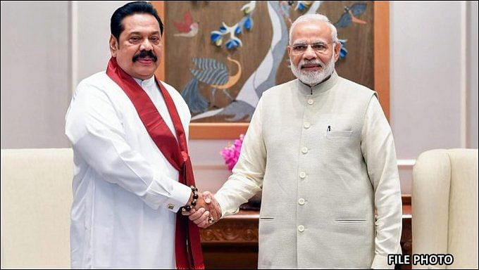Sri Lankan PM Mahinda Rajapaksa, Modi hold talks on defence and security