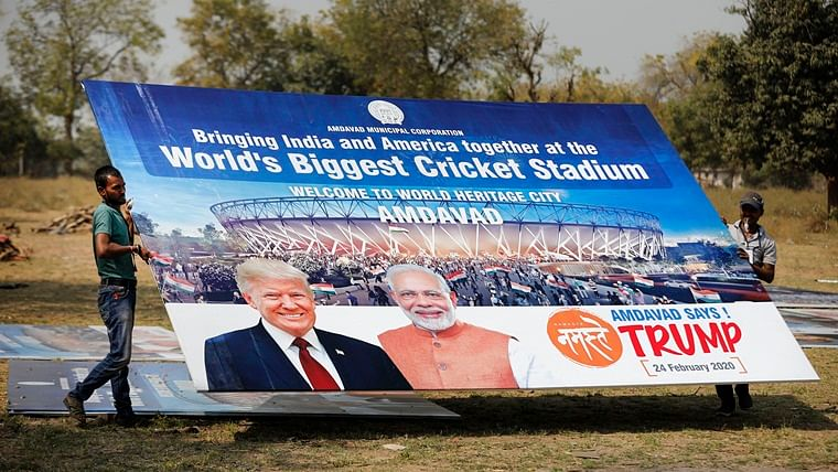 One lakh or 10 million — how many people are attending Trump's Gujarat roadshow?