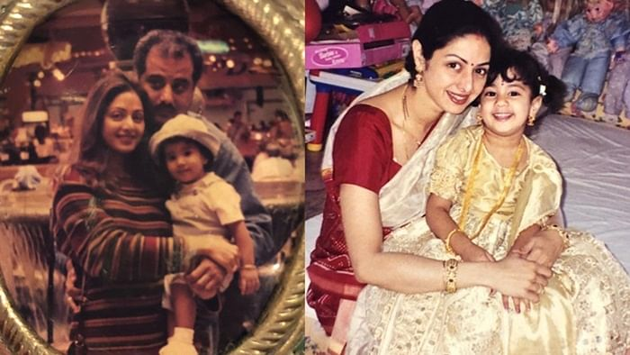 'Miss you everyday': Janhvi Kapoor shares an adorable throwback picture with her late mom Sridevi