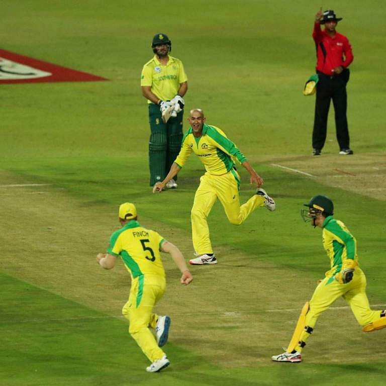 AUS vs SA: Australia crush Proteas by 107 runs to win first T20I
