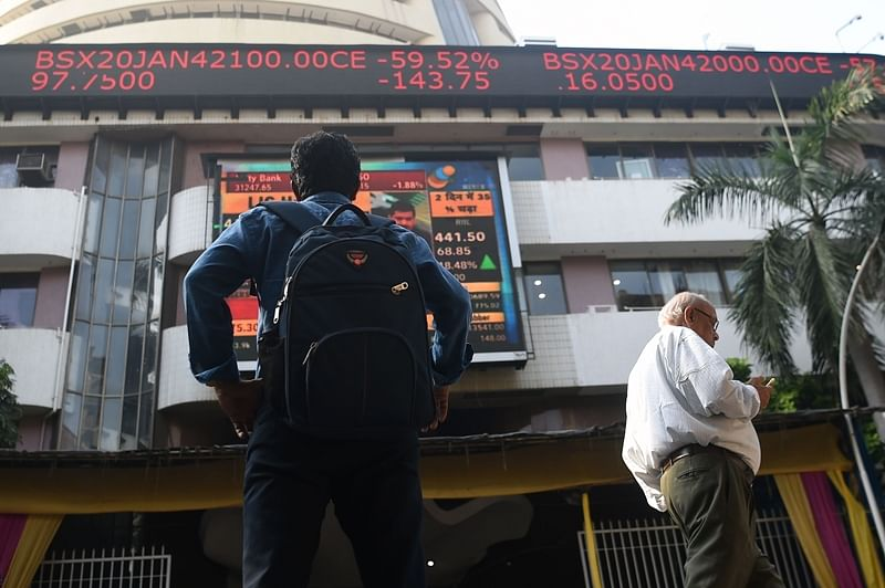Market benchmark Sensex falls 65 points in morning session