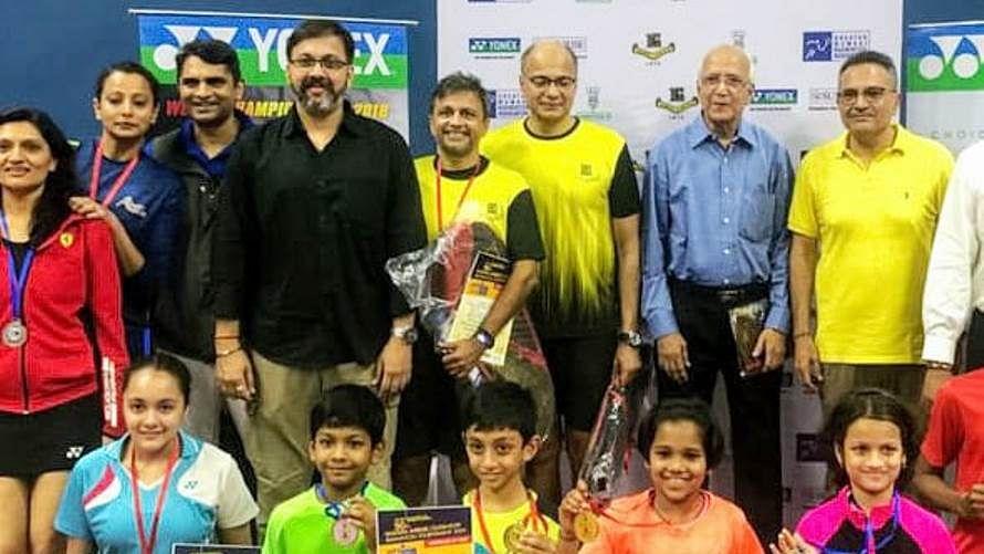 GMBA badminton tournament: Arya, Taarini emerge supreme