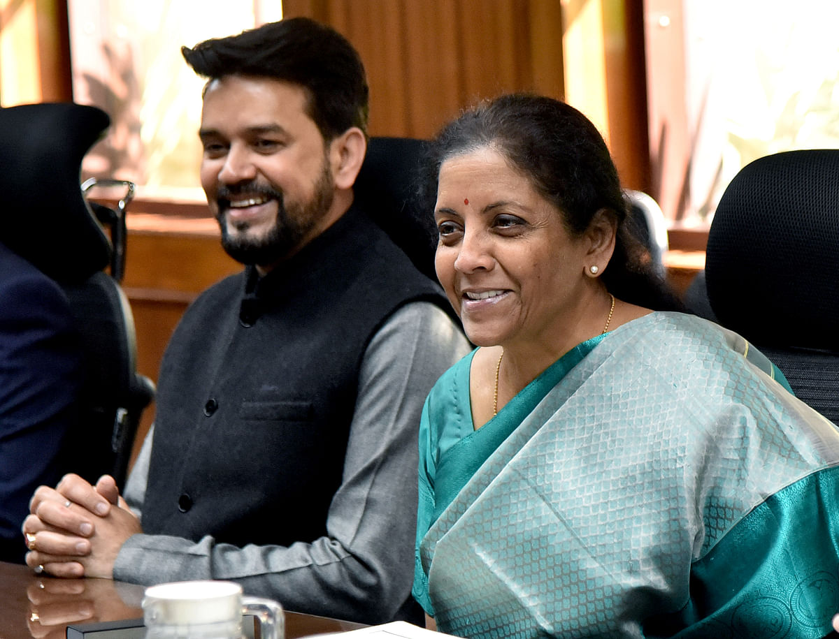FM Nirmala Sitharaman bats for 'increased complementarity' as RBI pegs growth at 6 pc for FY '20-21