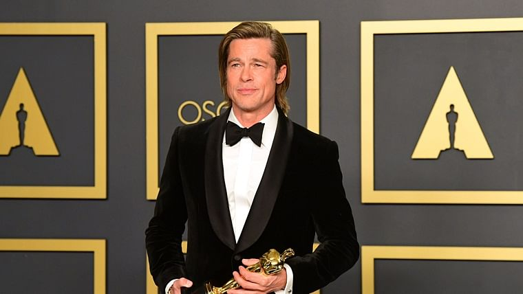 After 33 years, Brad Pitt wins maiden acting Oscar