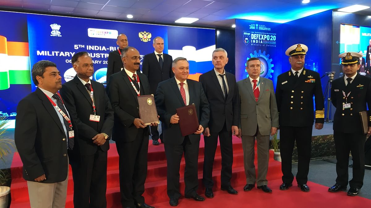 BHEL signs MoU with Rosoboronexport, Russia