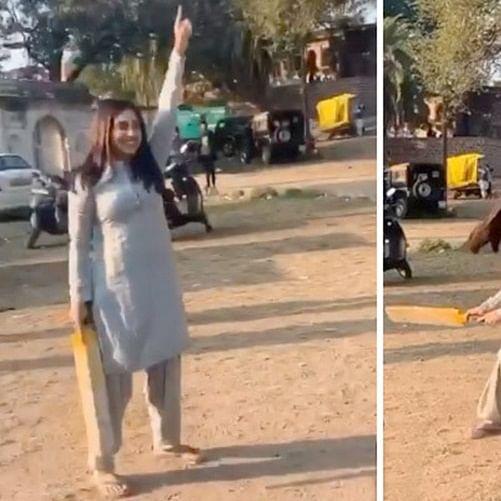 Bhumi Pednekar enjoys gully cricket with Bhopal residents amid 'Durgavati' shoot