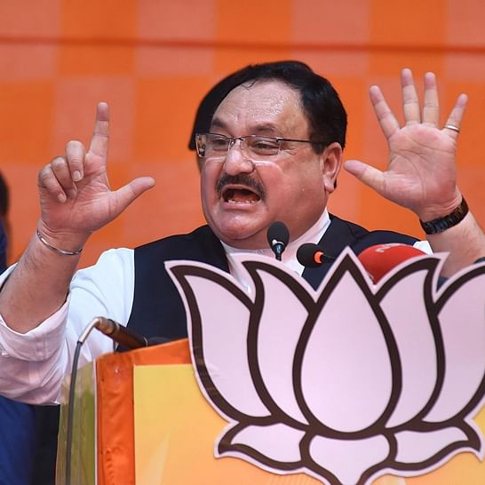 BJP president JP Nadda avoids questions posed by media related to Delhi violence
