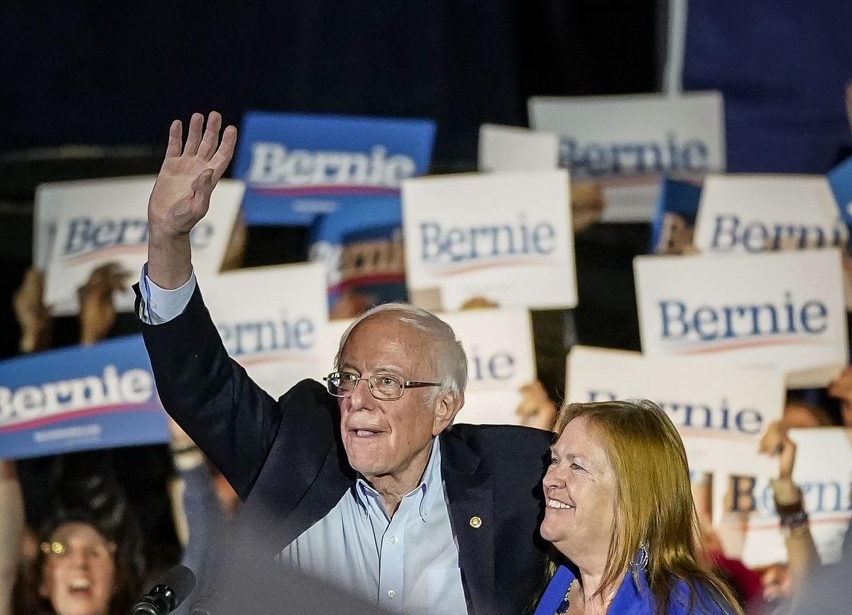Sanders wins big in Nevada, President Donald Trump congratulates the US Senator