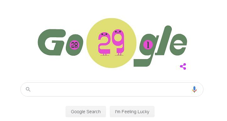 Leap Day 2020: Google celebrates February 29 with fancy doodle
