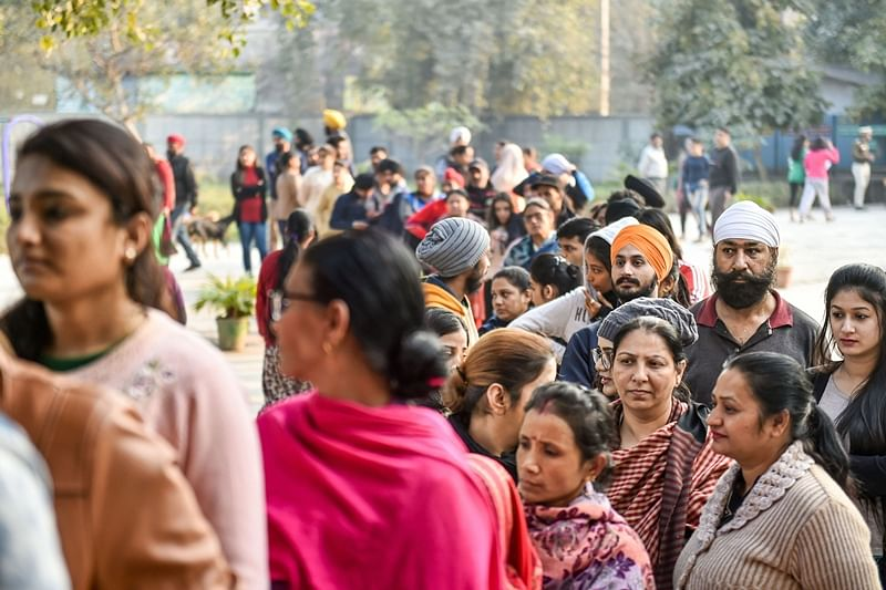 Delhi election 2020: AAP fumes as EC sits on turnout