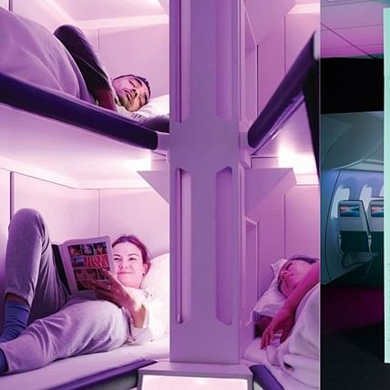 Air New Zealand to install sleeping pods for economy class passengers