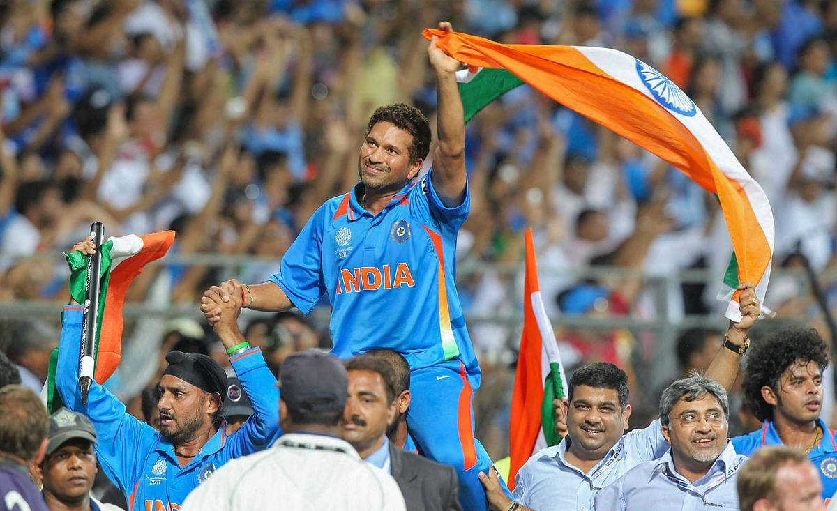 Laureus Awards: Tendulkar bags Man of the Moment for 2011 World Cup scene