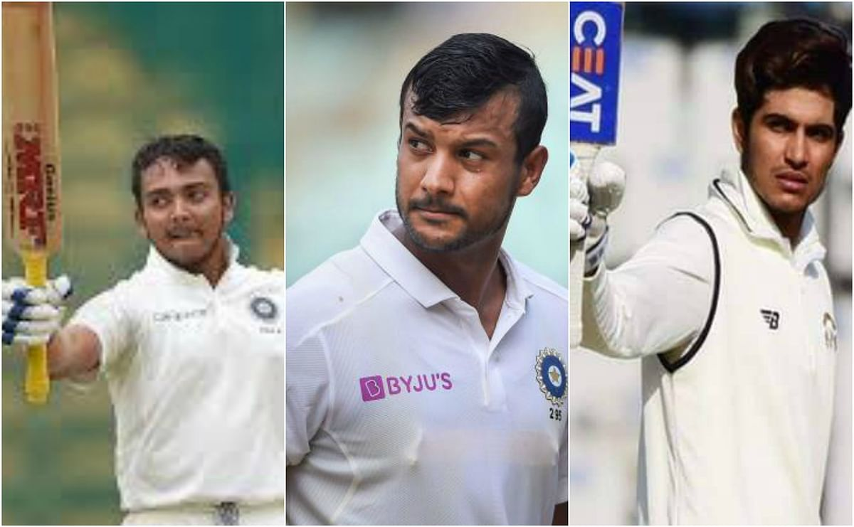 Will opening slot  be can of worries for Virat & co against Black Caps in Tests?