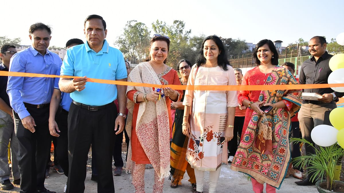 SWR inaugurates floodlight lit volley ball and hockey courts