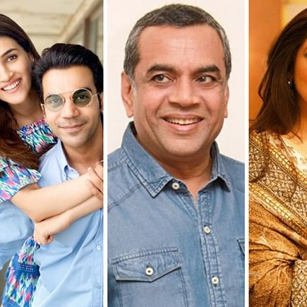 Rajkummar Rao and Kriti Sanon to reunite in upcoming situational comedy with Paresh Rawal and Dimple Kapadia