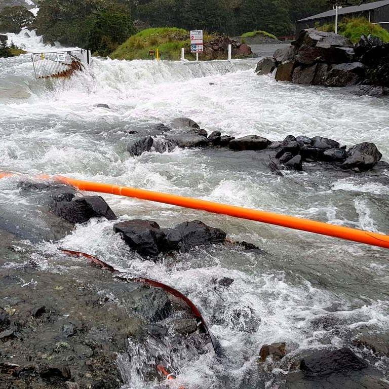 Hundreds flee flooding in New Zealand
