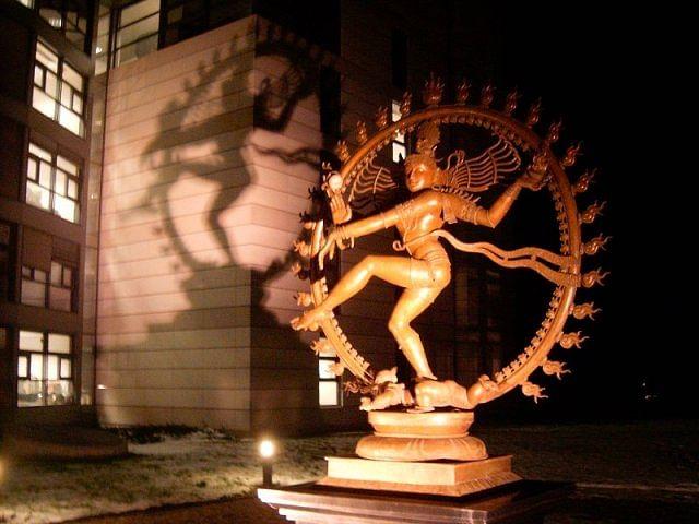 Shiva in the shadows