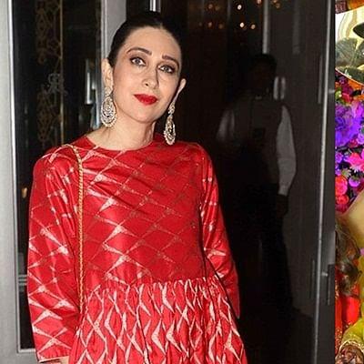 Inside Pics: Karisma Kapoor dances her heart out at Armaan Jain's sangeet ceremony