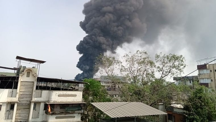 Mumbai fire: Blaze erupts at chemical company in Dombivli; no casualties reported