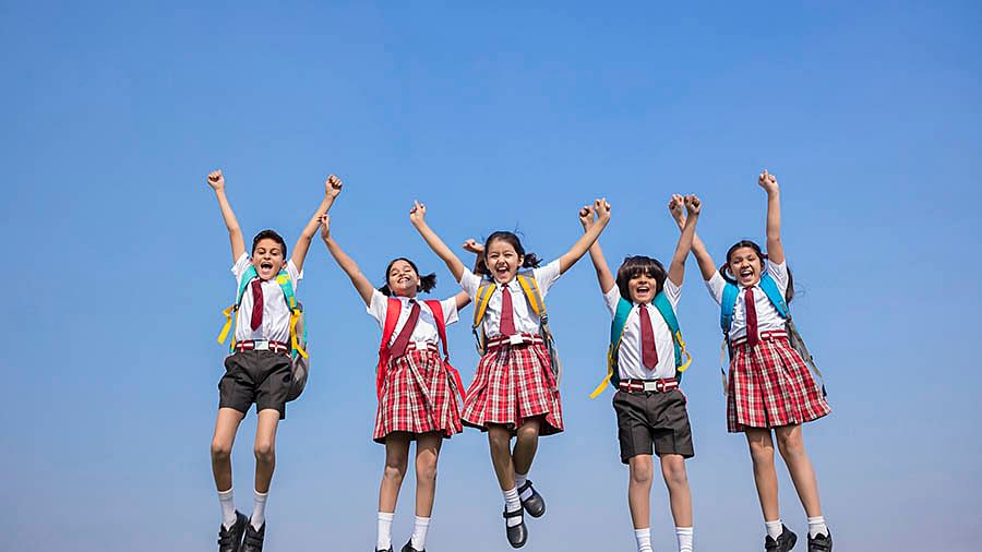 After easy English exam, students celebrate & plan for other papers