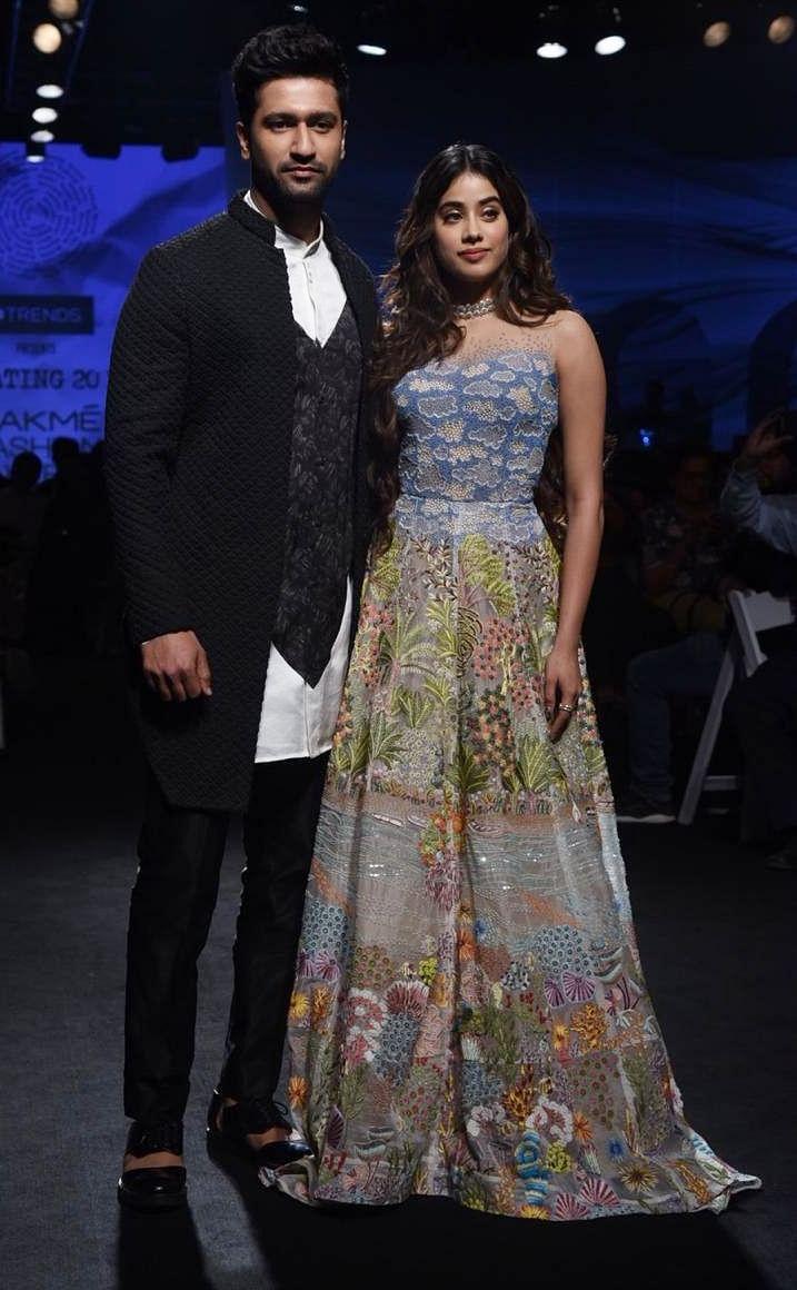 Vicky Kaushal with Janhvi Kapoor