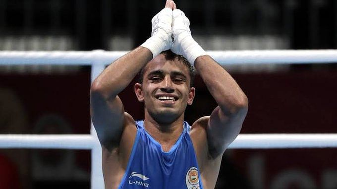Amit Panghal ranks no.1 in IOC's Boxing Task Force for Olympic qualifiers