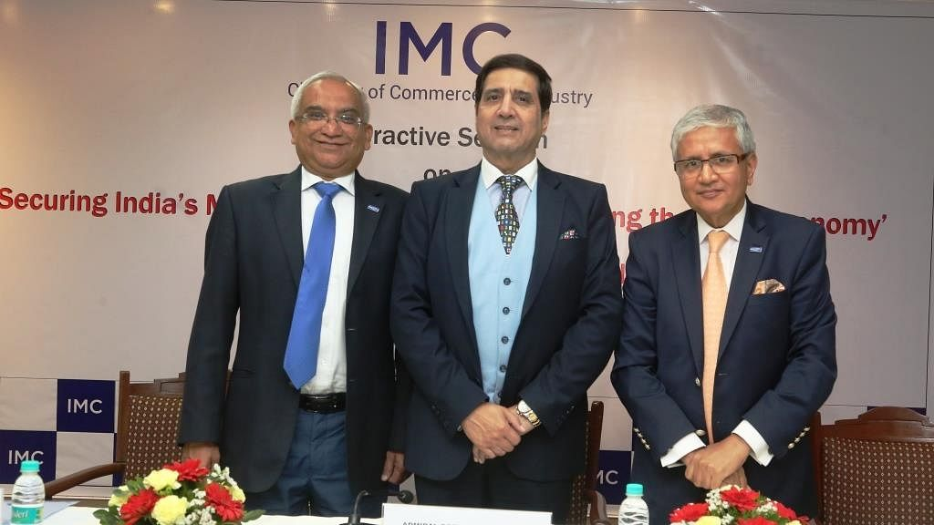 IMC organises interactive session with Admiral Robin K. Dhowan