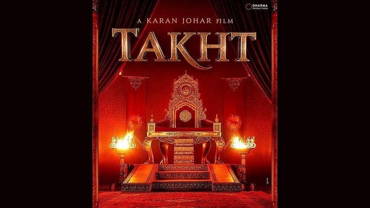 Karan Johar's announces release date multi-starrer historical-drama 'Takht'