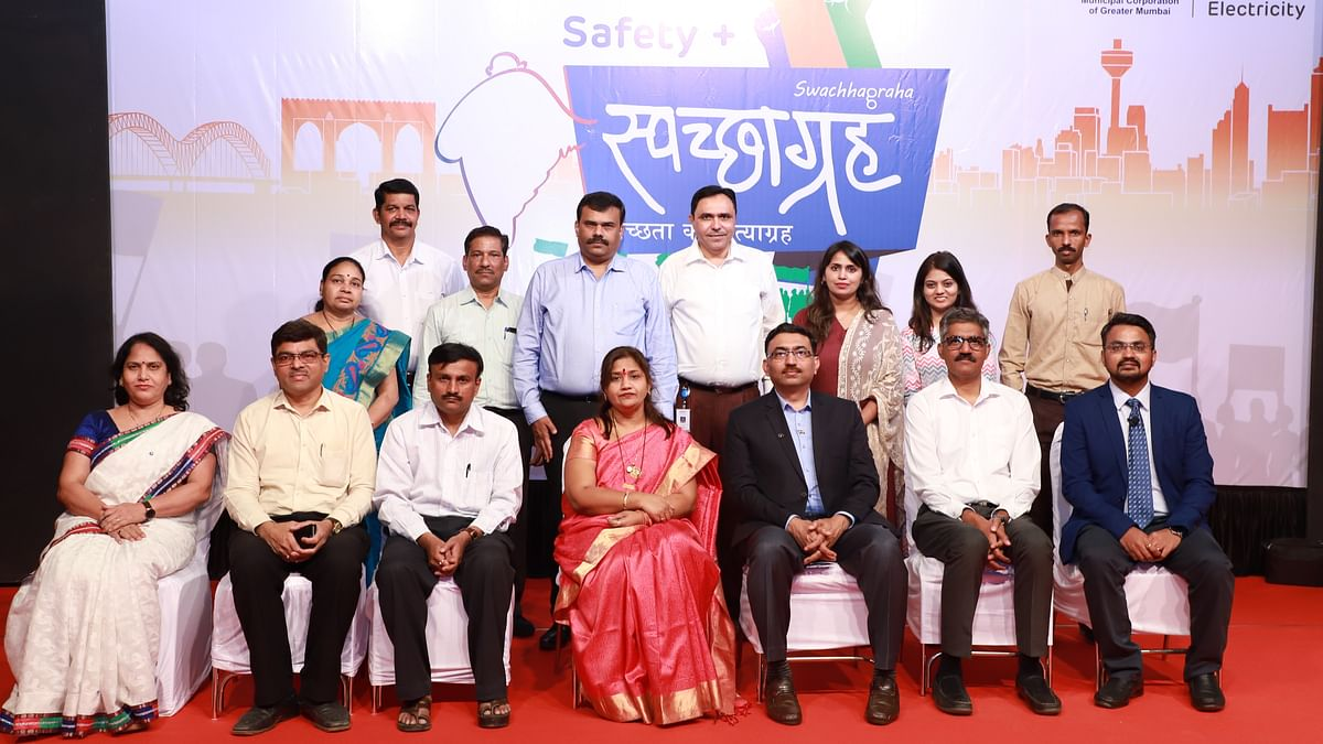 AEML launches Adani Foundation's 'Safety+Swachhagraha' programme in Mumbai
