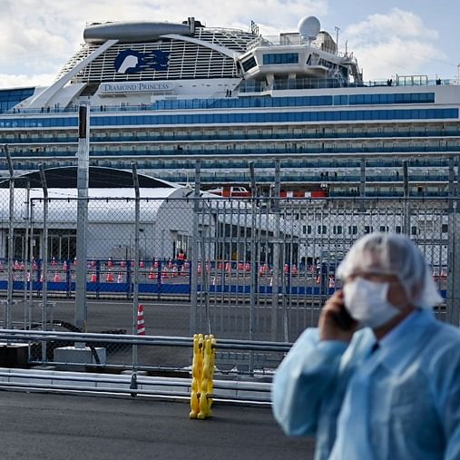Seventh Indian tests positive for coronavirus on quarantined Japan cruise ship