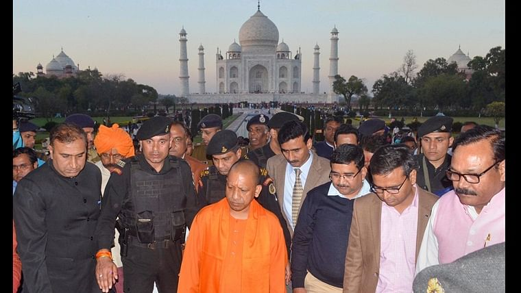 Namaste Trump: When Yogi Adityanath said the Taj Mahal 'did not reflect Indian culture'