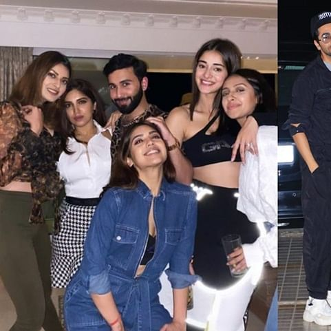 Actress Bhumi Pednekar's house party was a star-studded affair!