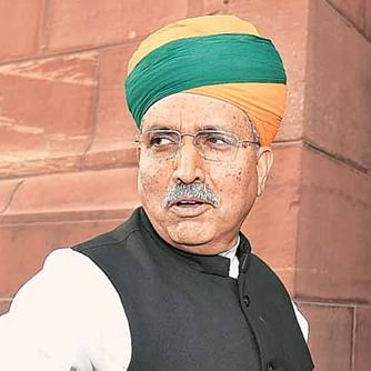 Union minister Arjun Meghwal reached Nagaur to meet the Dalit victims and their families